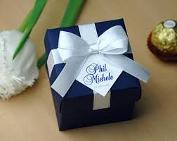 personalized wedding favor boxes wedding favor boxes etsy