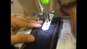 how to sew a button hole using a sewing machine and buttonhole