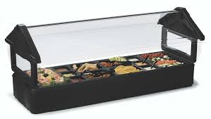 Inflatable Table Top Buffet Cooler Carlisle 7711 6ft Maximizer Food Salad Bar Holds 6 Full Size Food Pans