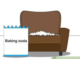 how to clean upholstery with baking soda 4 ways to clean soot furniture wikihow