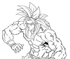 goku super saiyan 4 by neoluce on deviantart