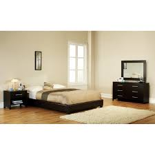 metro king black faux leather bed free shipping today