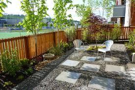 contemporary gravel garden contemporary landscape seattle