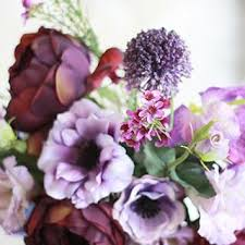 wedding flowers lavender silk wedding flowers bouquets shop flowers by color at afloral