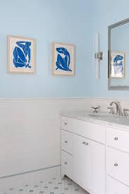 blue bathroom paint colors transitional bathroom benjamin