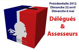 assesseur bureau de vote présidentielle 2012 appel aux volontaires pour être présents dans