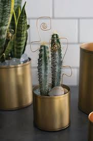 small flower pot small gold metal pot flower containers afloral com