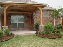 spacious covered back porch latest