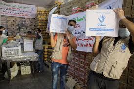 food baskets delivered ocha syria on 1250 food baskets delivered to the