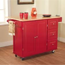 Kitchen Island Red Kitchen Inspiring Ideas Of Kitchen Island On Wheels To Complete