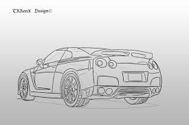 nissan skyline drawing 2 fast 2 furious image gallery nissan skyline drawings