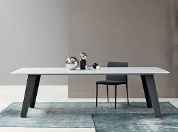 Contemporary Dining Tables by Bonaldo Welded Marble Dining Table Contemporary Dining Tables