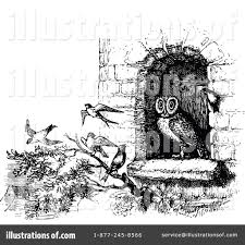 clipart owl black and white owl clipart 1147895 illustration by prawny vintage