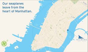 Boston And New York Map by Tailwind New York City To Boston Seaplane Flights