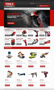 website template 46925 tools store online custom website template