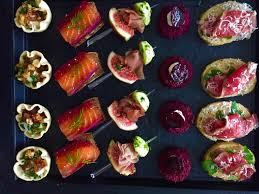party food canapés u0026 bowls