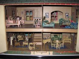 Kitchen Dollhouse Furniture by Tracy U0027s Toys And Some Other Stuff 1925 Tootsie Toy Dollhouse