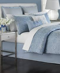 Martha Stewart Duvet Covers Closeout Martha Stewart Collection Periwinkle Dream 6 Piece