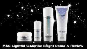 mac lightful c marine bright formula softening lotion mac lightful c marine bright demo and review march 2015 youtube