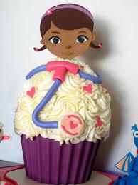 doc mcstuffins giant birthday cupcake byrdie custom cakes