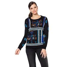 hanukkah sweater curations hanukkah sweater 8488461 hsn