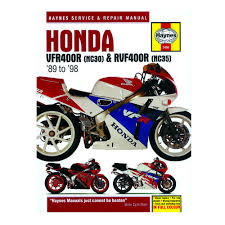 honda vfr 400 nc30 u0026 rvf400 nc45 haynes workshop manual service