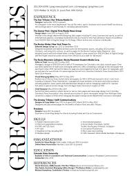 Sample Journalist Resume Objectives by Cover Letter Journalist Example