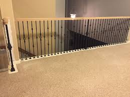 Wrought Iron Banister Rails Replacing Half Wall With Wrought Iron Balusters U2013 Angela East