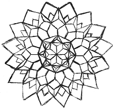 geometric coloring pages coloringsuite