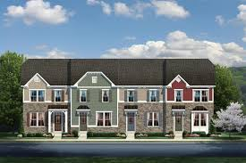 Ryan Homes Mozart Floor Plan New Mozart Townhome Model For Sale At Village At Candle Station