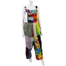 patchwork dungarees handmade fair trade balinese from siesta