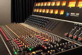 how to build a studio desk api 1608 console