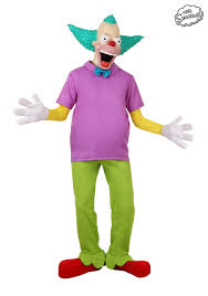 The Mask Costume The Simpsons Krusty The Clown Costume