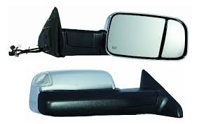 towing mirrors for dodge ram 3500 2010 2011 2012 dodge ram 1500 2500 3500 passenger side chrome