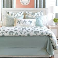 Comforters Bedding Seashell Bedding Becomes The Best Alternative Beauty Home Decor