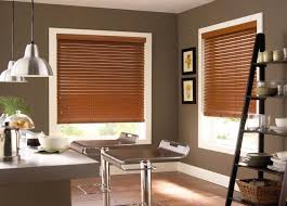 Mahogany Faux Wood Blinds Faux Wood Blinds Faux Window Treatments Budget Blinds