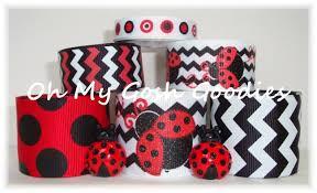 ladybug ribbon ribbon mix sets