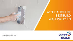 wall putty how to apply bestbuild wall putty fn english youtube