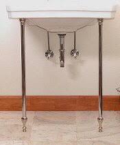 wall mount sink legs lavatory legs