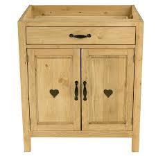meuble bas cuisine hauteur 80 cm meuble bas cuisine pin massif 80 cm 2 portes avec coeur 1 tiroir