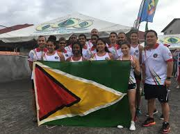 Guyana Flag Three Wins For Guyana On First Day Of Team Events U2013 Stabroek News