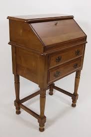 Maddox Tables Secretary Desk by Antique Drop Front Writing Desk Decorative Desk Decoration