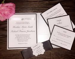 Wedding Programs With Ribbon Wedding Program With Ribbon Lace And Diamonds