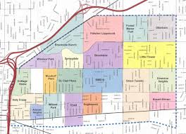 Map Of Downtown Indianapolis Our Neighborhood