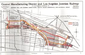 Traffic Map Los Angeles by Factories And Dealerships Of Historical Los Angeles Hemmings Daily