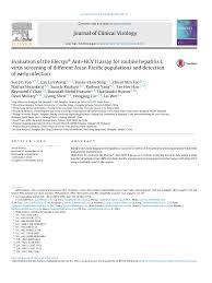 evaluation of the elecsys anti hcv ii assay for routine hepatitis