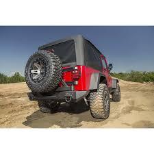 cj8 jeep rugged ridge 11546 42 tire carrier xhd rear bumper 76 06