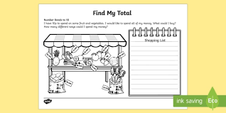 my total number bonds to 10 activity sheet worksheet