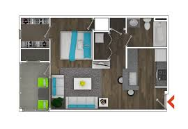 Studio Plan by Floor Design Amanora Studio Apartments Typical Apartment Plan Idolza