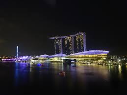 Bay Bridge Light Show Singapore Lantern Bar U0026 Level 33 Bar Anglonip